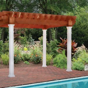 Oasis Pergola - Black Bear Outdoor Structures
