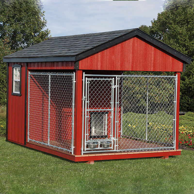 Picture Of Dog House To Color