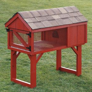 Black Bear Rabbit Hutch