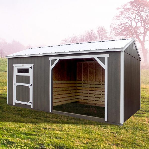 Animal Shelter With Tack Room