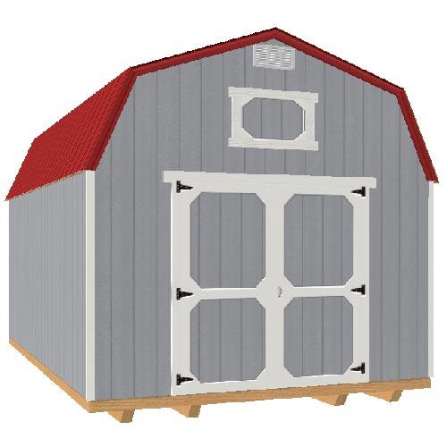 12x16 Lofted Barn